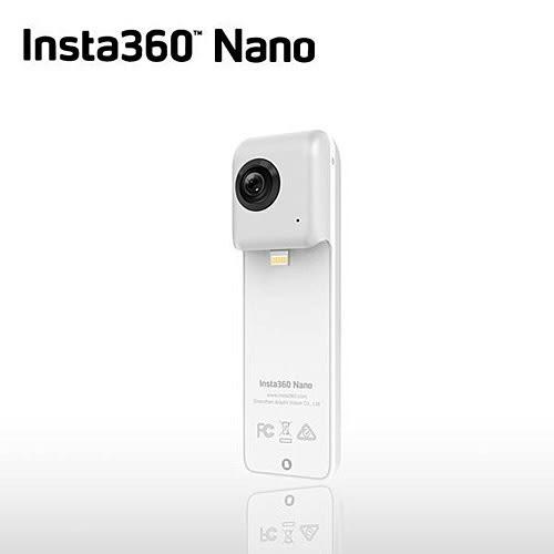 INSTA360 NANO 全景相機 (公司貨) 贈INSTA360 MICRO SDHC-32G 100M/70M