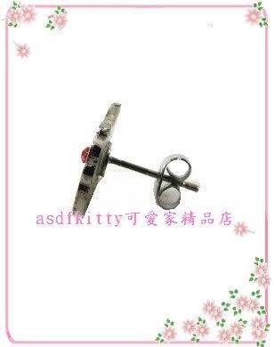 asdfkitty可愛家☆山姆企鵝穿式耳環-歐美版正版商品
