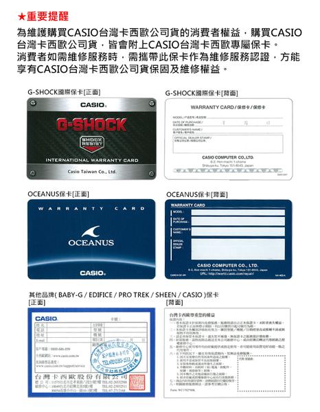 CASIO  卡西歐  GA-110CR-2A  /  G-SHOCK系列  原廠公司貨