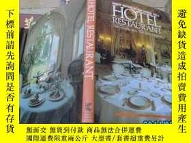 二手書博民逛書店GREAT罕見HOTELS OF THE WORLD:VOL5 HOTEL RESTAURANT 精裝 N1Y