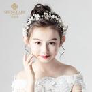 兒童頭花飾品女童花環頭飾小女孩花朵公主森女系韓國花童發飾演出 polygirl