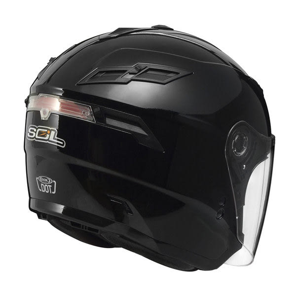 SOL安全帽,SO1,素色/黑