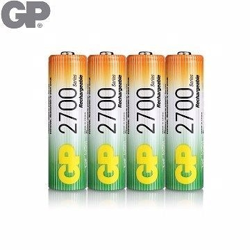 {光華新天地創意電子}GP低自放鎳氫充電池3號2700mAh (4入) (BAT-GPB-2700AA-C4)   喔!看呢來