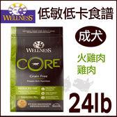 PetLand寵物樂園《Wellness CORE無穀系列》低敏低卡健康 - 成犬24磅 / 獲WDJ