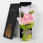 禮物香皂玫瑰花母親節禮物玫瑰花束肥皂花生日送媽媽閨蜜女友 愛麗絲精品