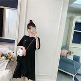 中大尺碼6805#(實拍)春夏新款寬松顯瘦超仙女沙灘裙夏連衣裙(F4032)