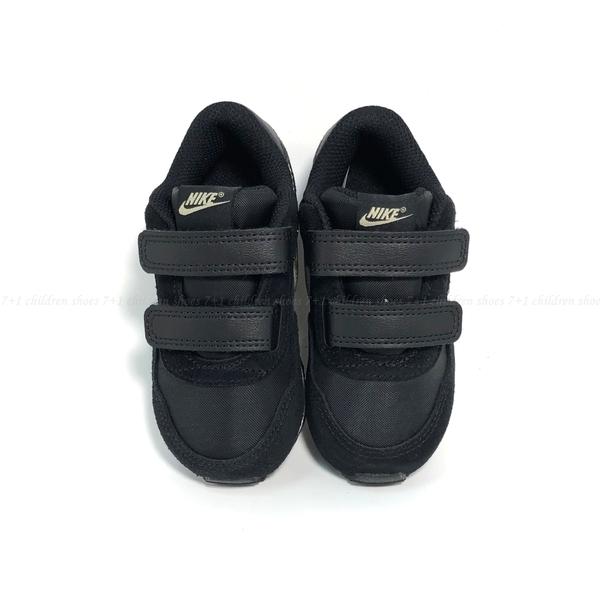 《7+1童鞋》小童 NIKE MD VALIANT (TDV) 復古款 運動鞋 H827 黑色