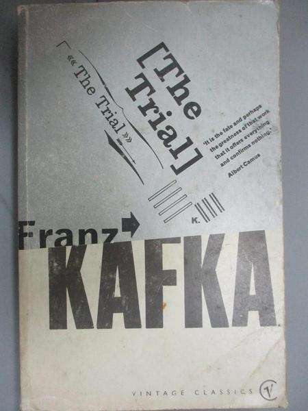 【書寶二手書T8/原文小說_JHD】The Trial_Franz Kafka