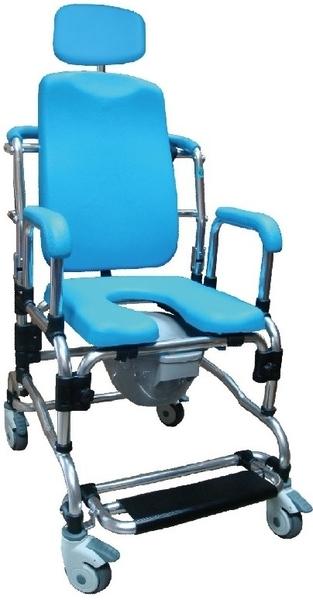 洗澡椅 便盆椅 便器椅旗艦型加頭靠SHU-818-3