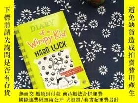 二手書博民逛書店Diary罕見of a Wimpy Kid HARD LUCKY