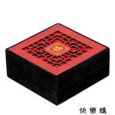 閣風水木雕鏤空首飾盒子手鐲手鍊佛珠盒