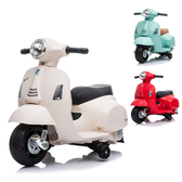 Vespa 偉士牌 迷你電動玩具車(綠/紅/白)
