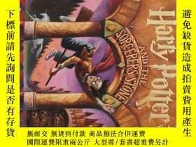 二手書博民逛書店哈利波特與魔法石1罕見英文原版Harry Potter and the Sorcerer s Stone 哈利波特