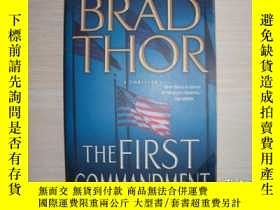 二手書博民逛書店BRAD罕見THOR THE FIRST COMMANDMENT 553Y289578 Pocket Book