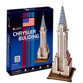 A1014【3D Puzzle 立體拼圖】世界建築精裝版-美國克萊斯勒大廈
