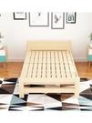 折疊床單人床家用成人1米兒童午休床實木板床簡易經濟型雙人床