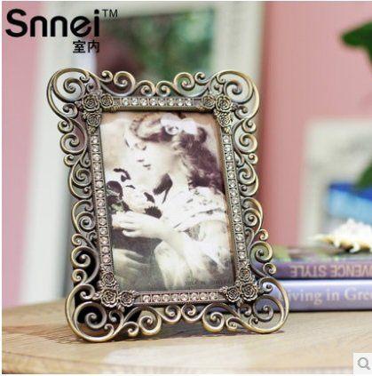 尼法朵拉薔薇之戀 歐式金屬相框