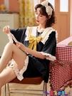 家居服 睡衣女純棉夏季薄款短袖公主風甜美韓版兩件套裝可外穿春秋家居服寶貝計畫 上新
