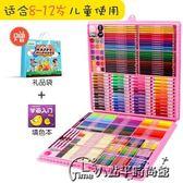 水彩筆套裝畫筆套盒幼兒園初學者彩色筆手繪兒童繪畫蠟筆彩筆水彩畫筆可水洗色彩筆推薦