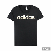 Adidas 女FOIL LINEAR 愛迪達圓領T 短CV4566