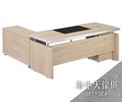 {{ 海中天休閒傢俱廣場 }} G-02 摩登時尚 辦公桌系列 247-1 白橡色6尺L型辦公桌組