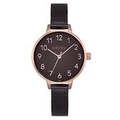 OBAKU 禪風美學時尚腕錶-棕