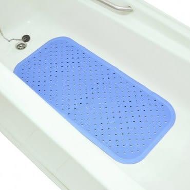 日本waise浴缸專用大片止滑墊 (藍色)