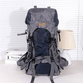 登山包/後背包 登山包徒步包 戶外運動包雙肩旅行背包鋁板支架55L