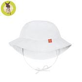 德國Lassig-嬰幼兒抗UV海灘遮陽帽-純白