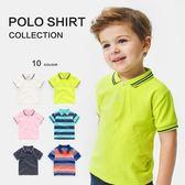 男童短袖POLO衫翻領新款半袖T恤夏裝夏季