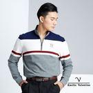 嚴選高品質保暖純棉彈性素材 經典拉鍊立領設計 展現優雅帥氣風範
