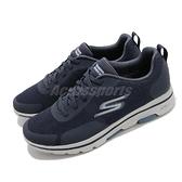 Skechers 休閒鞋 Go Walk 5-Truro 深藍 白 男鞋 記憶鞋墊 運動 休閒鞋 【ACS】 216037NVY