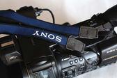 原裝索尼背帶DSC-RX100 RX100II M3 M4 M5黑卡相機背帶 攝影肩帶   電購3C