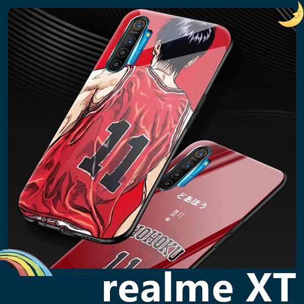 realme XT 灌籃高手保護套 軟殼 SLAM DUNK 防刮玻璃 軟邊全包款 手機套 手機殼