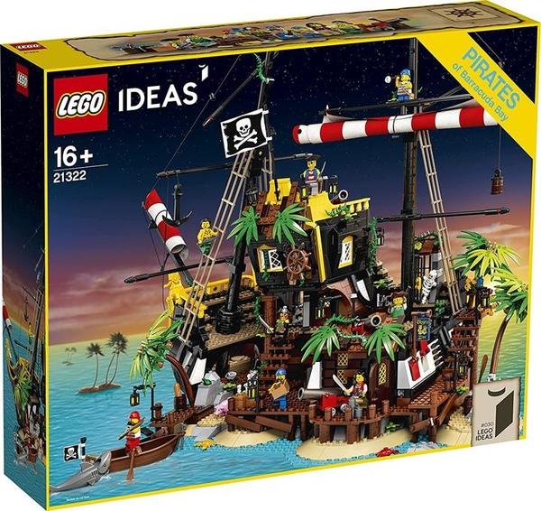 LEGO 樂高 創意系列 紅鬍子船長海賊島 21322