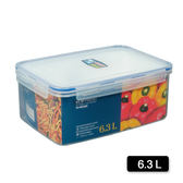 天廚長型保鮮盒6.3L【愛買】