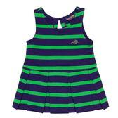 『小鱷魚童裝』條紋摺裙洋裝(02號~06號)561394
