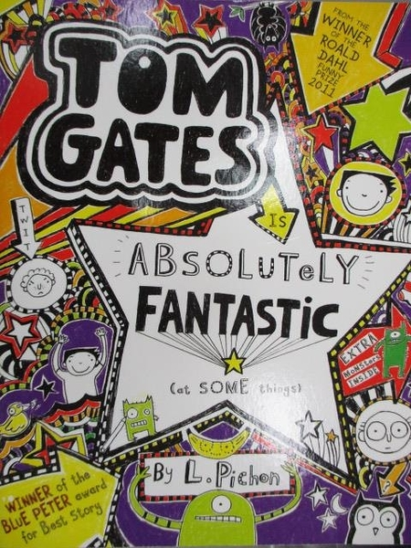 【書寶二手書T1/原文小說_MKA】TOM GATES-Absolutely Fantastic_Liz
