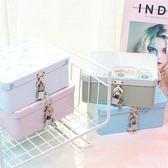 收納盒創意大容量口香糖曲奇餅干放錢的鐵盒 大號帶鎖的盒子 收納儲物箱 免運直出 交換禮物
