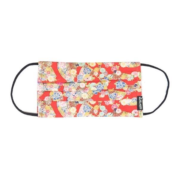 【南紡購物中心】Elasti日式和風口罩-綺麗華扇