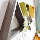 墻面裝飾品 實木墻面裝飾架架客廳餐廳玄關...