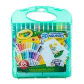 美國Crayola繪兒樂 可水洗短桿彩色筆套裝25色 麗翔親子館