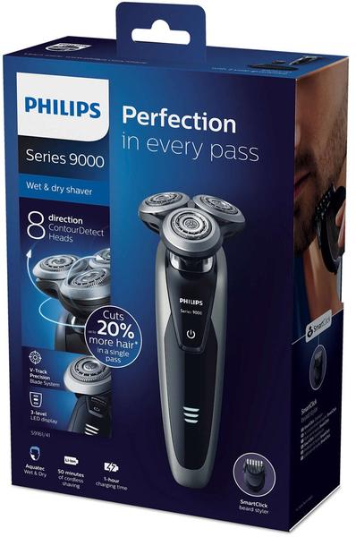 [限時特賣]飛利浦 S9161尊榮淨化三刀頭電鬍刀(荷蘭製)