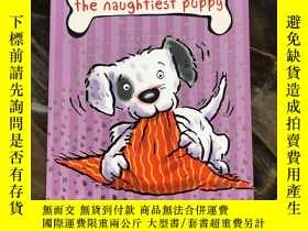 二手書博民逛書店Puddle罕見the Naughtiest Puppy: Ma