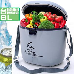 保溫箱保冰袋保鮮袋保溫袋台灣製造8L冰桶8公升冰桶行動冰箱攜帶式冰桶保溫桶擺攤推薦哪裡買