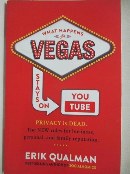 【書寶二手書T1/電腦_CYD】What Happens in Vegas Stays on YouTube: Privacy Is Dead…