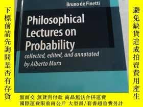 二手書博民逛書店Philosophical罕見Lectures on Proba