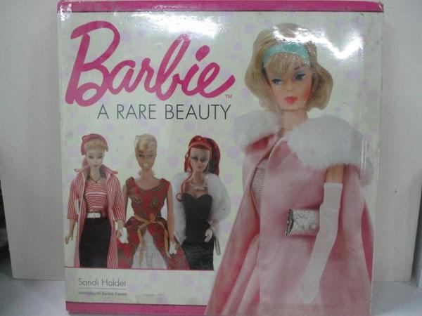 【書寶二手書T2/少年童書_ELY】Barbie A Rare Beauty_Holder, Sandi