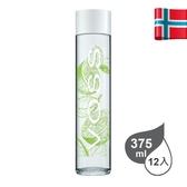 挪威VOSS芙絲風味氣泡礦泉水-萊姆薄荷 375ml/12入