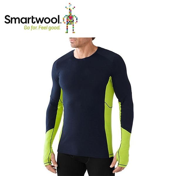 【美國 SmartWool 男Phd機能輕量長袖衫《深海軍藍》】SW0SO932/長袖衛生衣/登山健行/保暖圓領